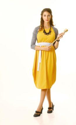שמלת אניטה קיץ – צהוב