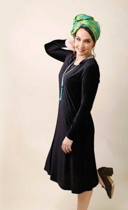 שמלת הגר – שחור