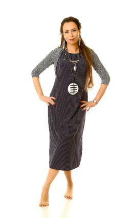 שמלת שני – כחול נייבי