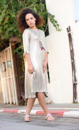 שמלת חמוטל לורקס – זית