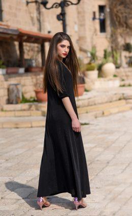 שמלת עלמה – שחור