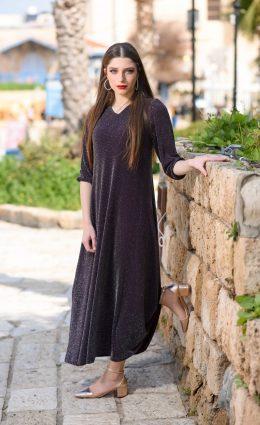 שמלת עלמה – סגול