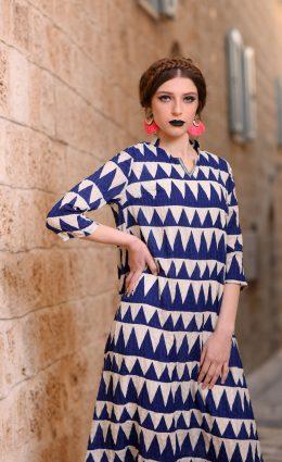 שמלת נהרא – כחול