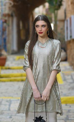 טוניקת אביה – זהב