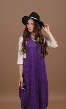 שמלת אניטה – סגול