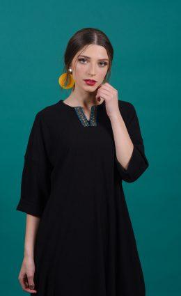 שמלת שקד – שחור