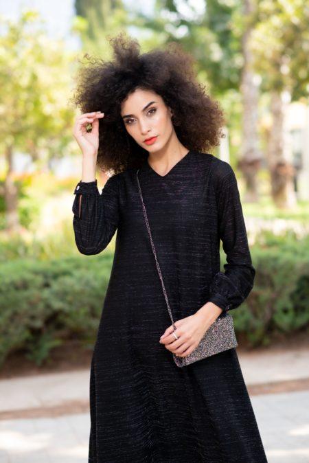 שמלת איזבלה – שחור