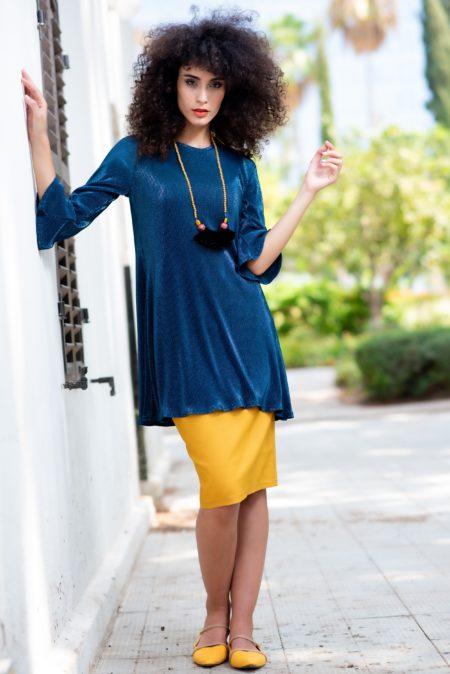 טוניקת דבי לורקס – כחול