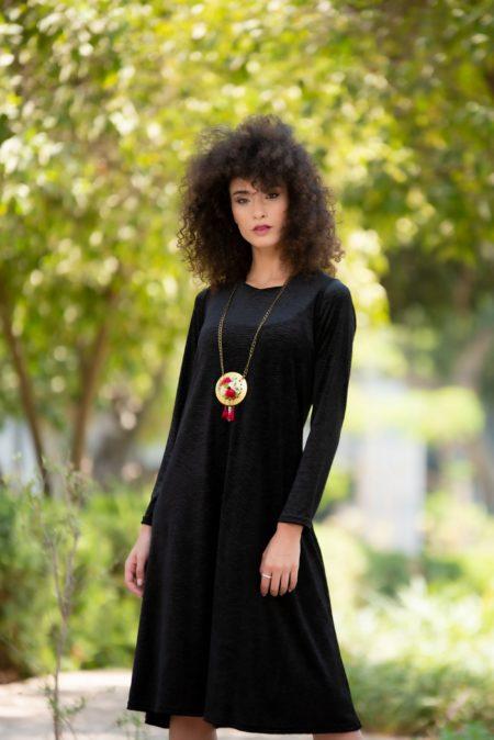 שמלת לורה – שחור