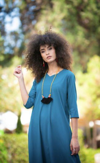 שמלת אליסה - טורקיז