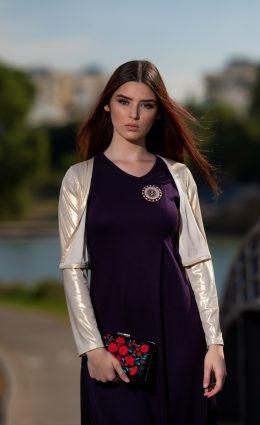 שמלת שבות – סגול