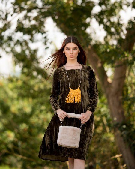 שמלת לורה – זית