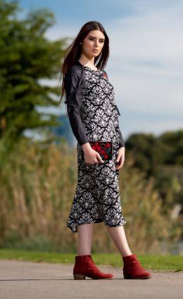 שמלת שבות – פרחוני