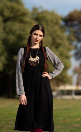 שמלת הדס – שחור
