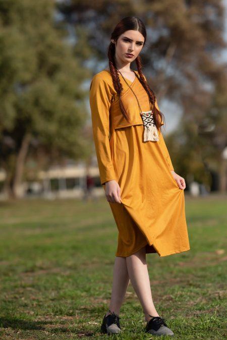 שמלת ג'סיקה – חרדל