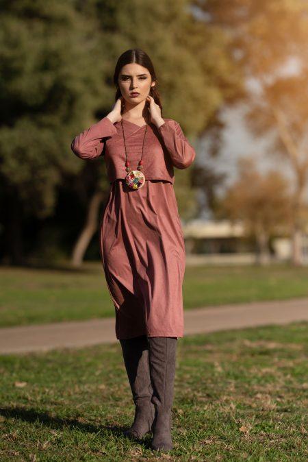 שמלת ג'סיקה – ורוד
