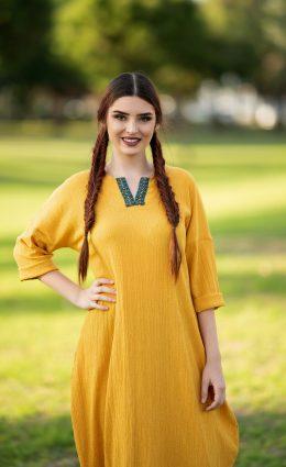 שמלת שקד – חרדל