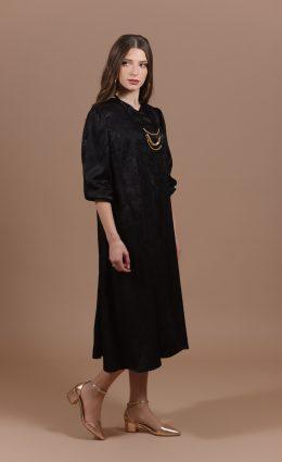 שמלת לילך – שחור