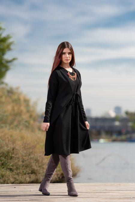 שמלת הללי – שחור