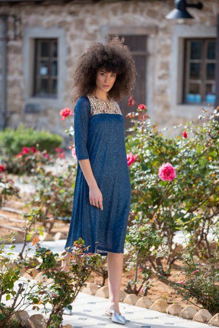 שמלת חירות – כחול