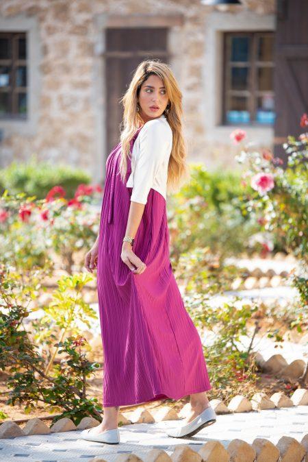 שמלת אלומה – פוקסיה