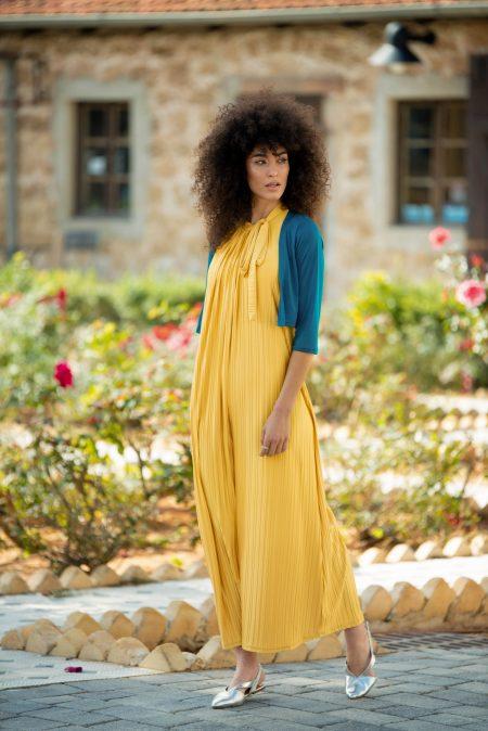 שמלת אלומה – חרדל