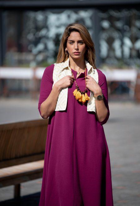 שמלת לוטם – פוקסיה