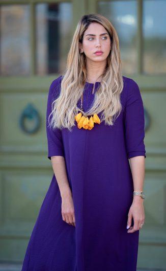 שמלת לוטם - סגול