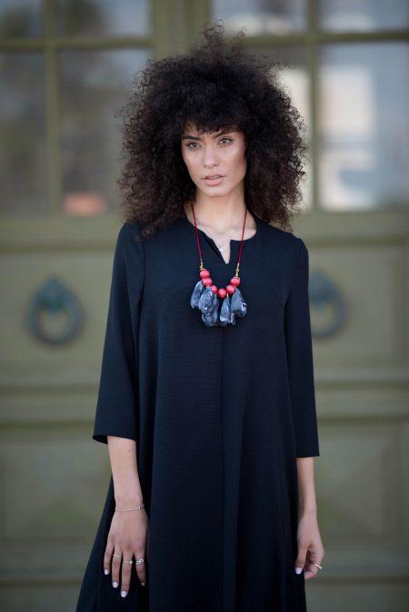 שמלת לוטם – שחור
