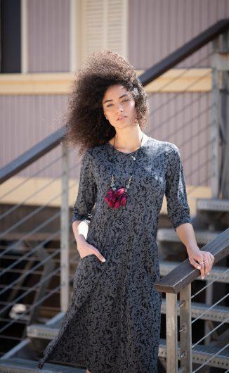 שמלת ניצן - פרחוני