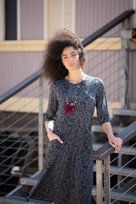 שמלת ניצן – פרחוני
