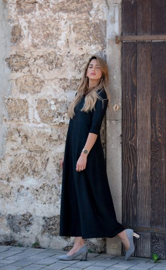 שמלת סוּף - שחור