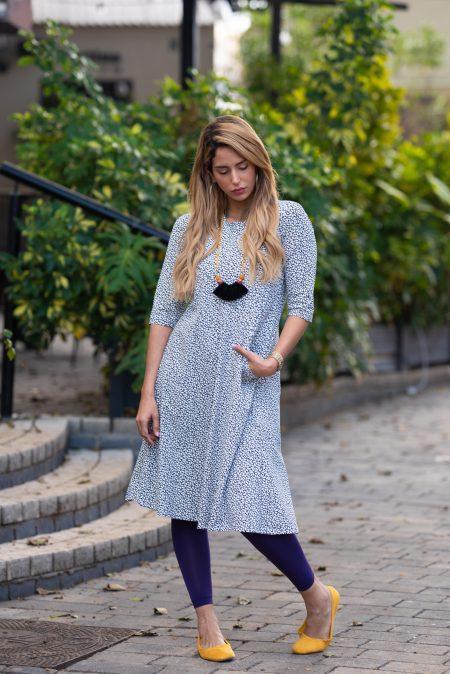 שמלת טל – פרחוני