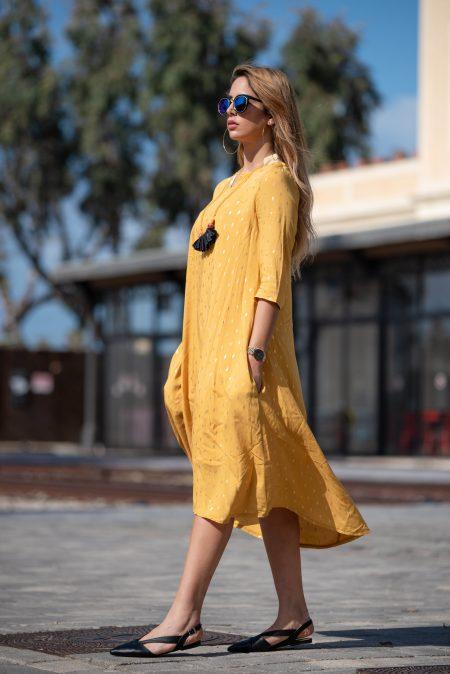 שמלת נטפים – חרדל