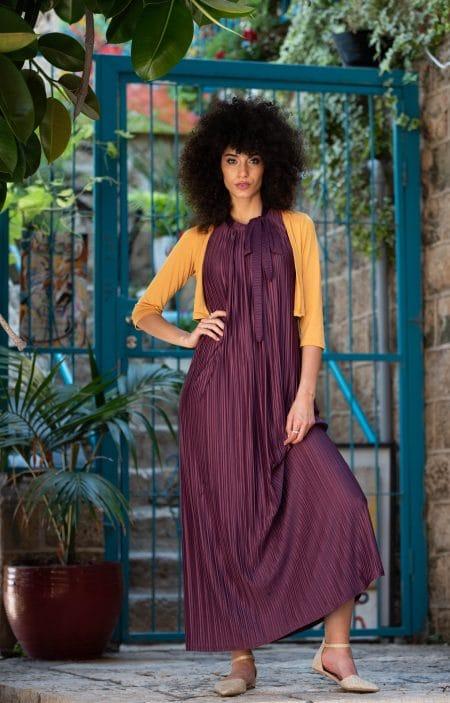 שמלת אלומה – סגול