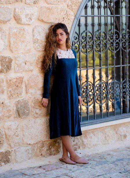 שמלת שחר – טורקיז