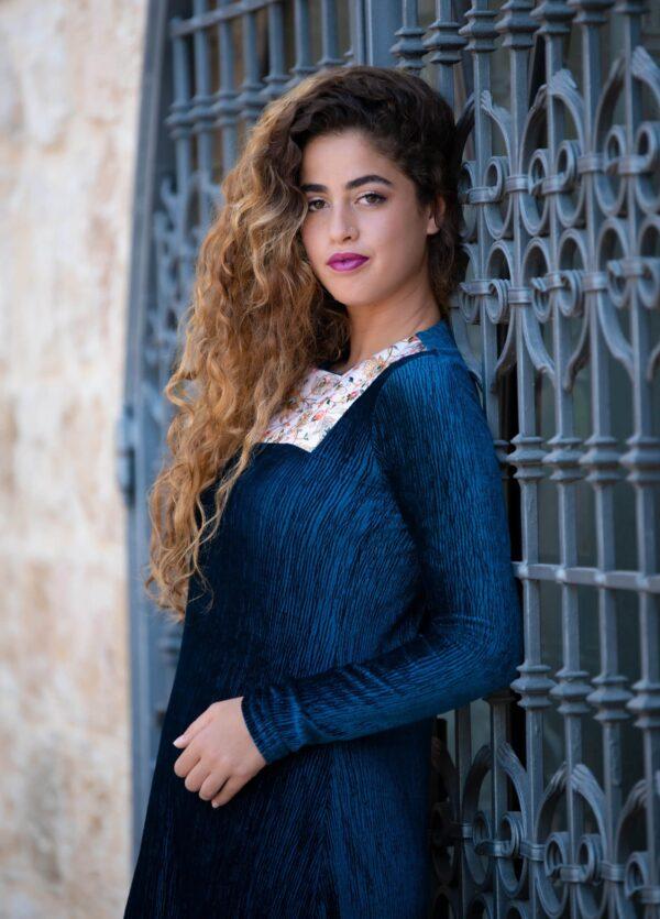 שמלת שחר - טורקיז