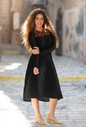 שמלת שחר - שחור