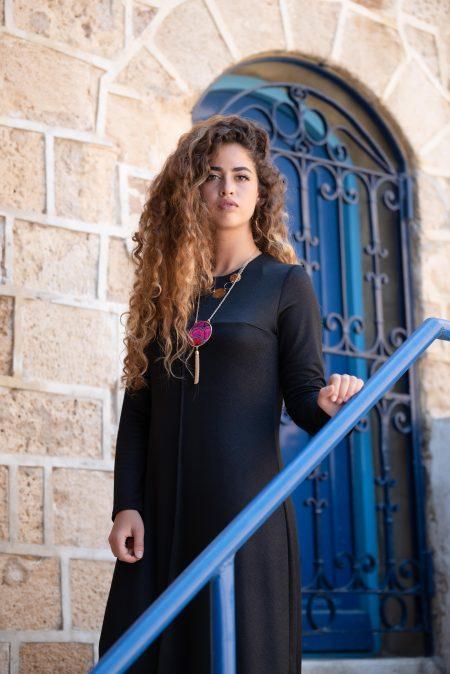 שמלת בר – שחור