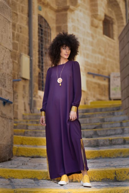 שמלת רותם – סגול