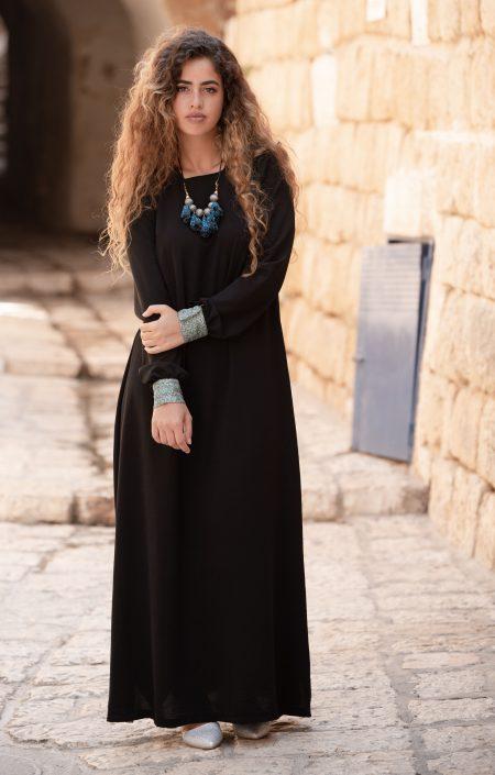שמלת רותם – שחור