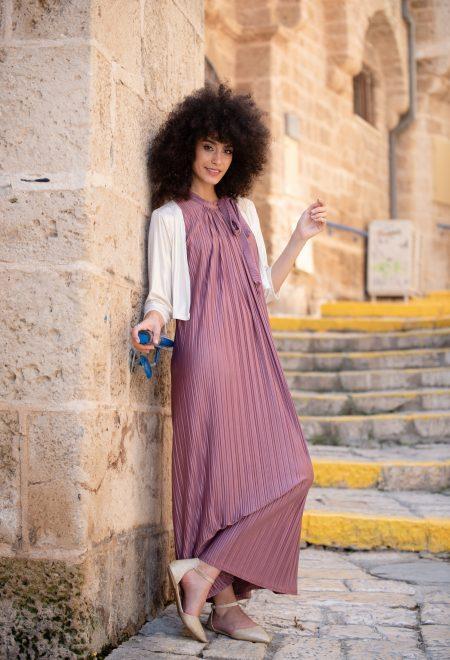 שמלת אלומה – ורוד