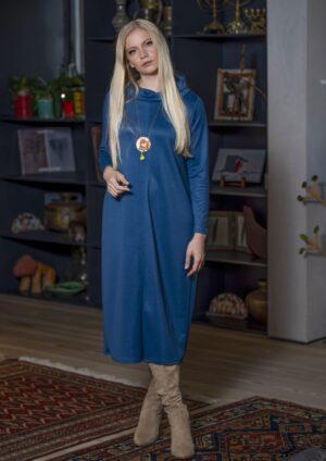 שמלת אדווה - ג'ינס