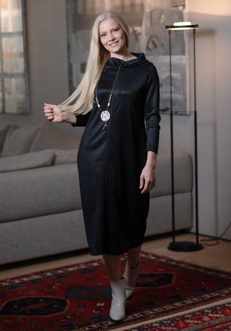 שמלת אדווה – שחור