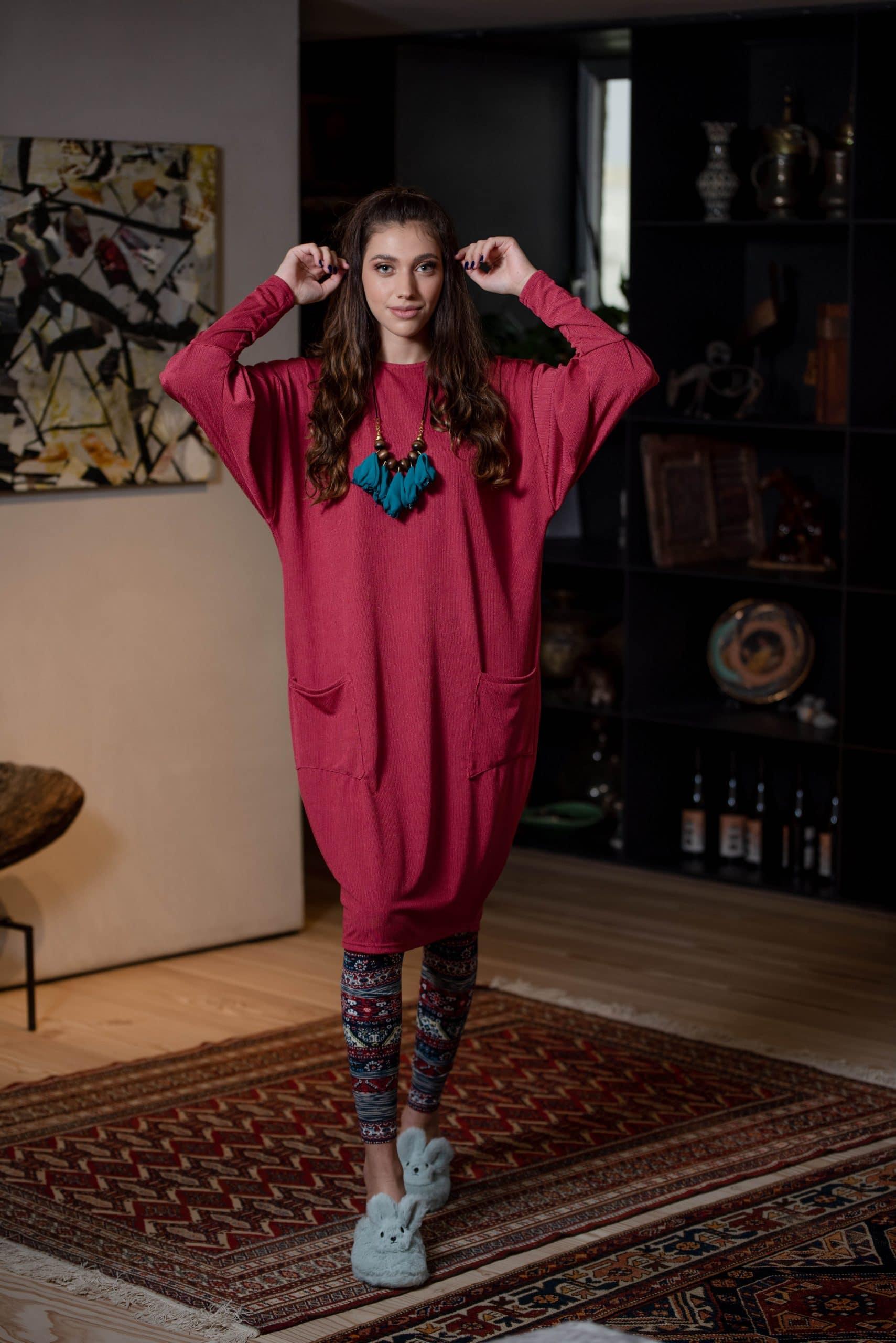 שמלת יובל - פוקסיה