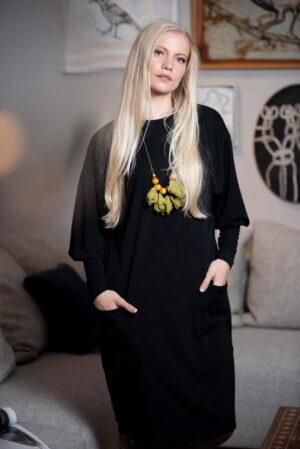 שמלת יובל - שחור